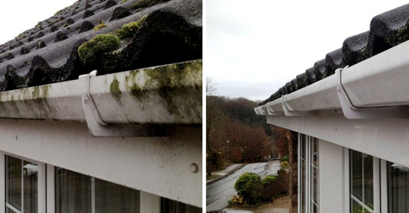 How Blocked Gutters Damage Your House