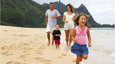 Budgeted family vacation